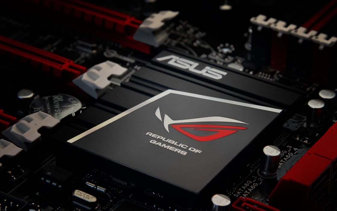 Asus rebublic of gamers wallpaper