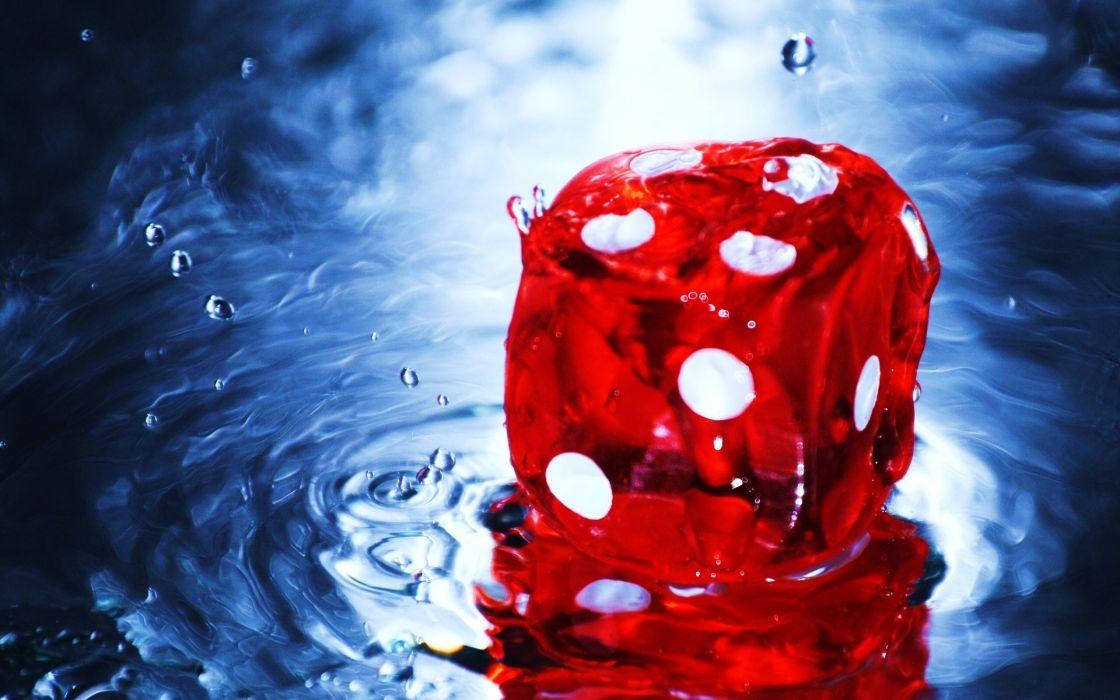 Red dice wallpaper