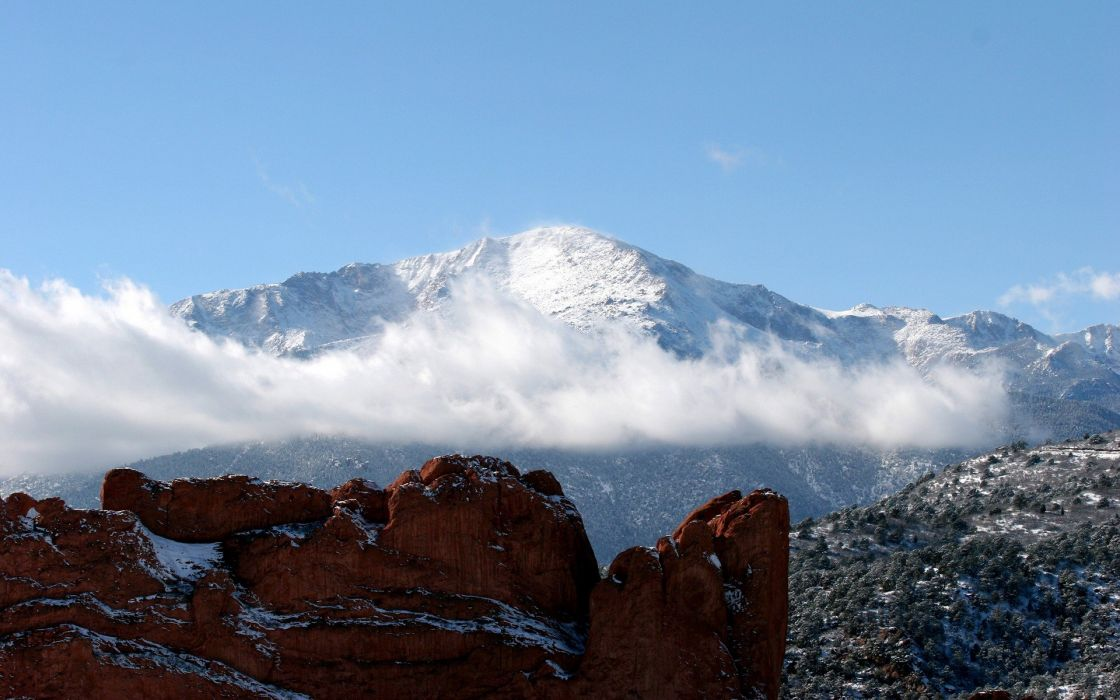 Hdr mountains wallpaper