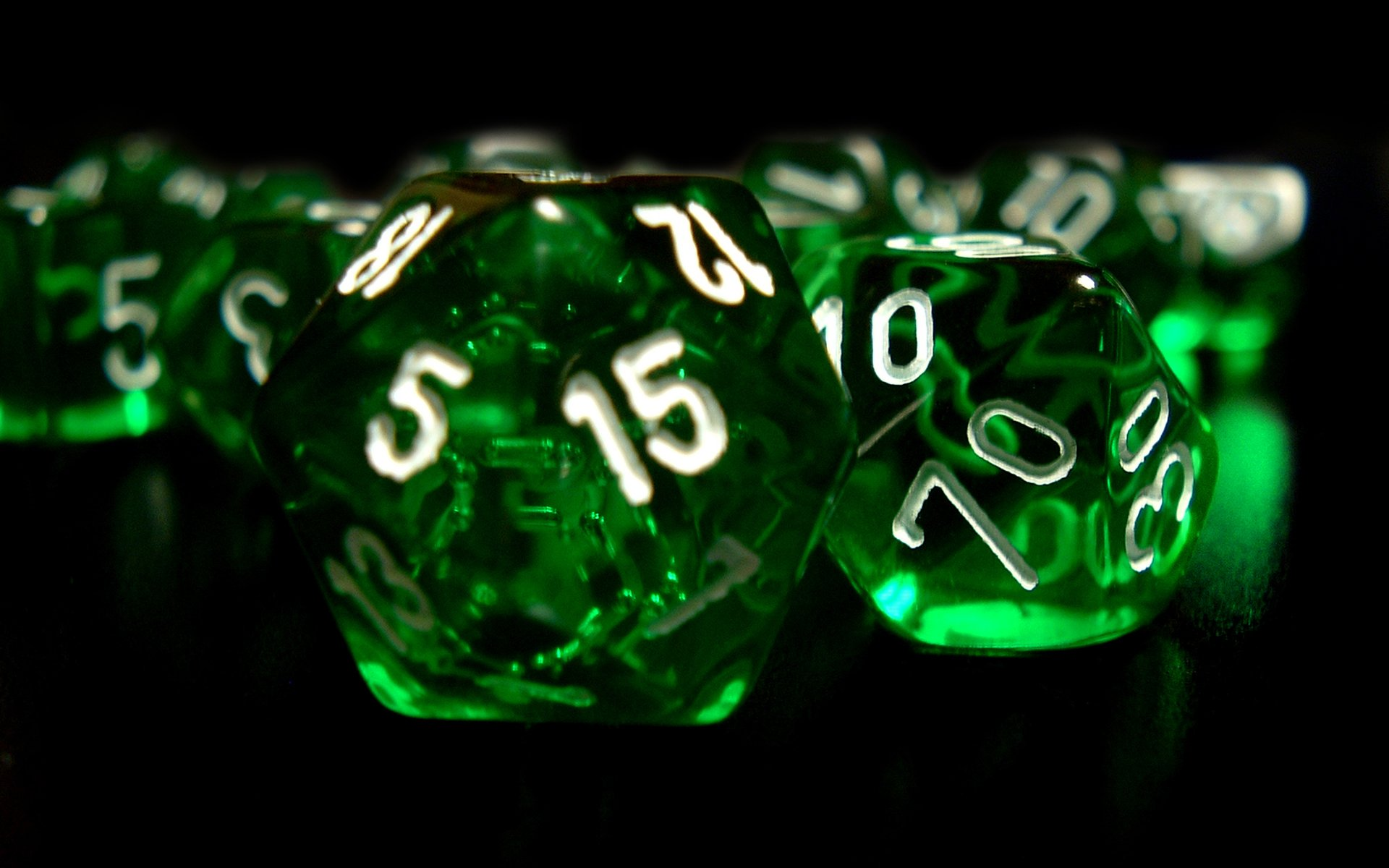Number green dice wallpaper 1920x1200 7288 wallpaperup - Number wallpaper ...