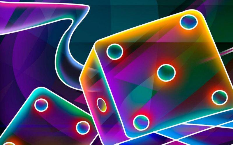 3D color cube wallpaper