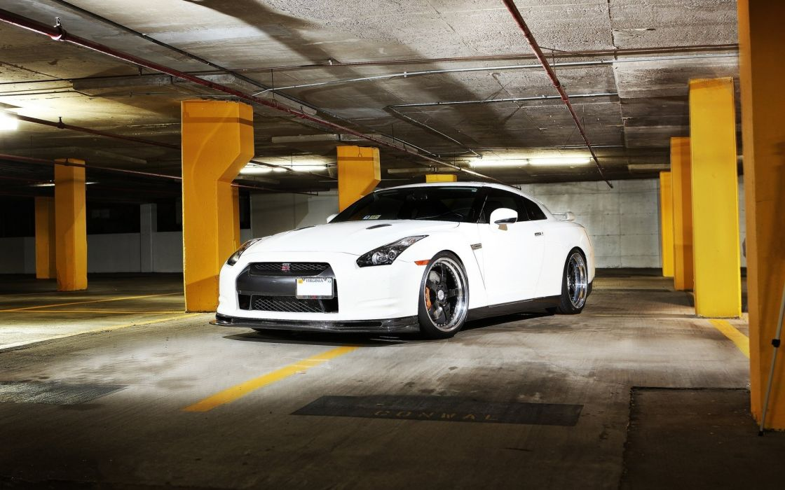 Nissan 370z coupe white wallpaper