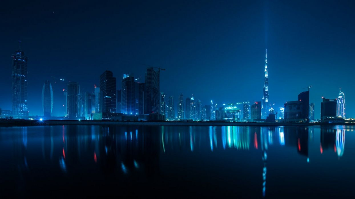 Cityscapes dubai blue pictures wallpaper