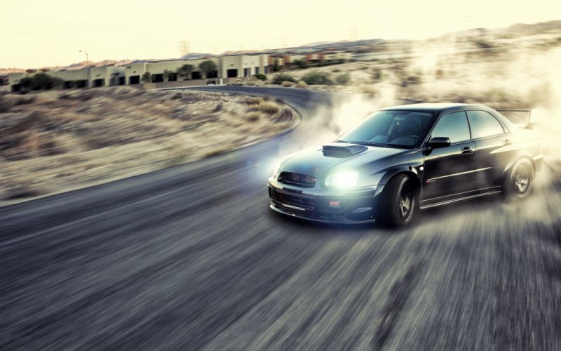Cars dust roads drifting races jdm subaru impreza wrx sti speed wallpaper