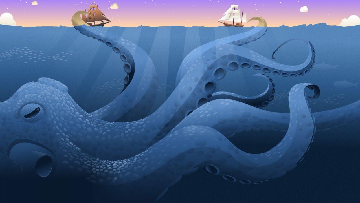 Ships opera web browser norway kraken wallpaper