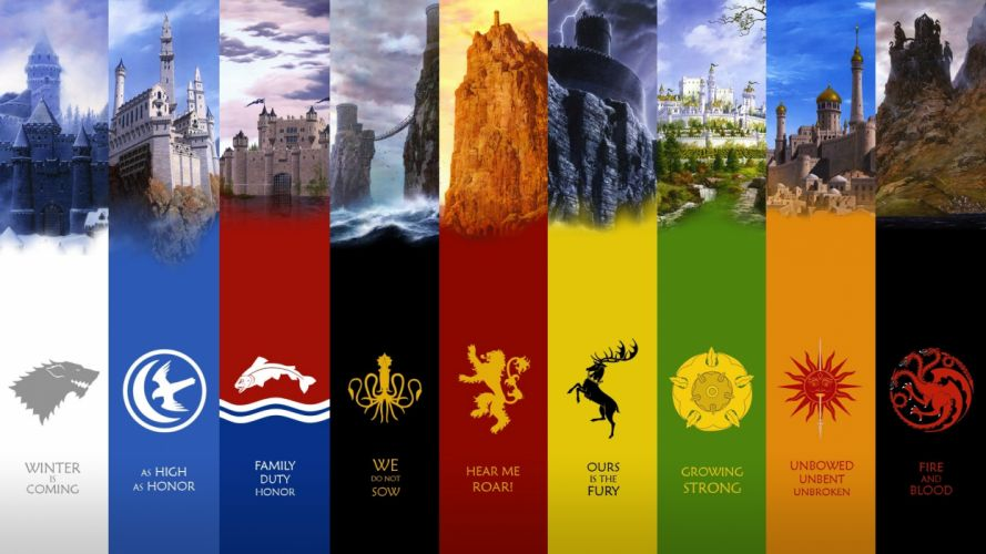 Castles quotes houses house kingdom fantasy art game of thrones emblem a song of ice and fire george r r martin mormont greyjoy lannister stark targaryen baratheon tully wallpaper
