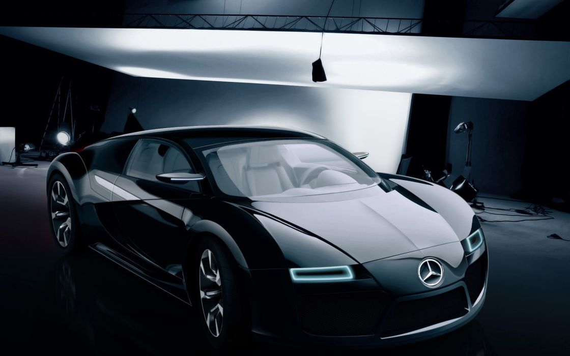 Benz car concept wallpaper