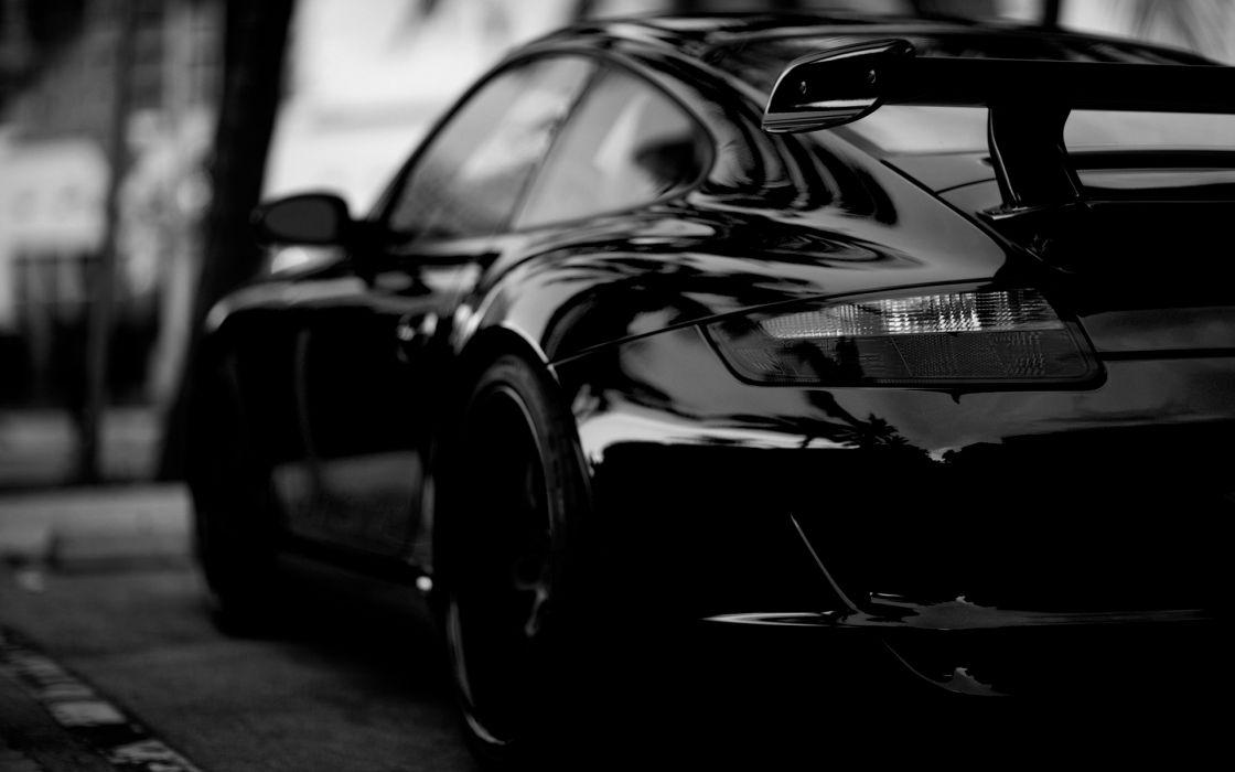 Black Porsche Cars Photography Monochrome Porche 911 Greyscale Black Cars Wallpaper 1920x1200 7451 Wallpaperup