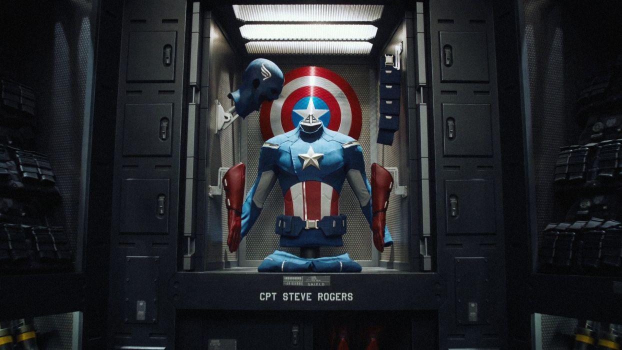 Captain america the avengers wallpaper