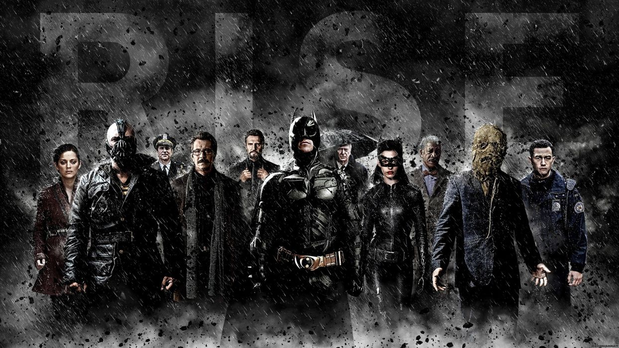 Batman catwoman scarecrow bane the dark knight rises talia al ghul lucius fox scarecrow comic character commissioner gordon alfred wallpaper