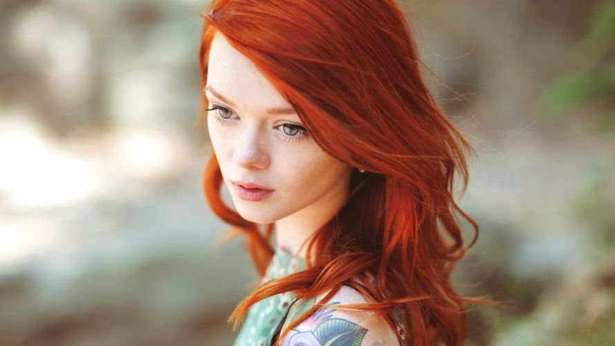 Women redheads people lass suicidegirls wallpaper