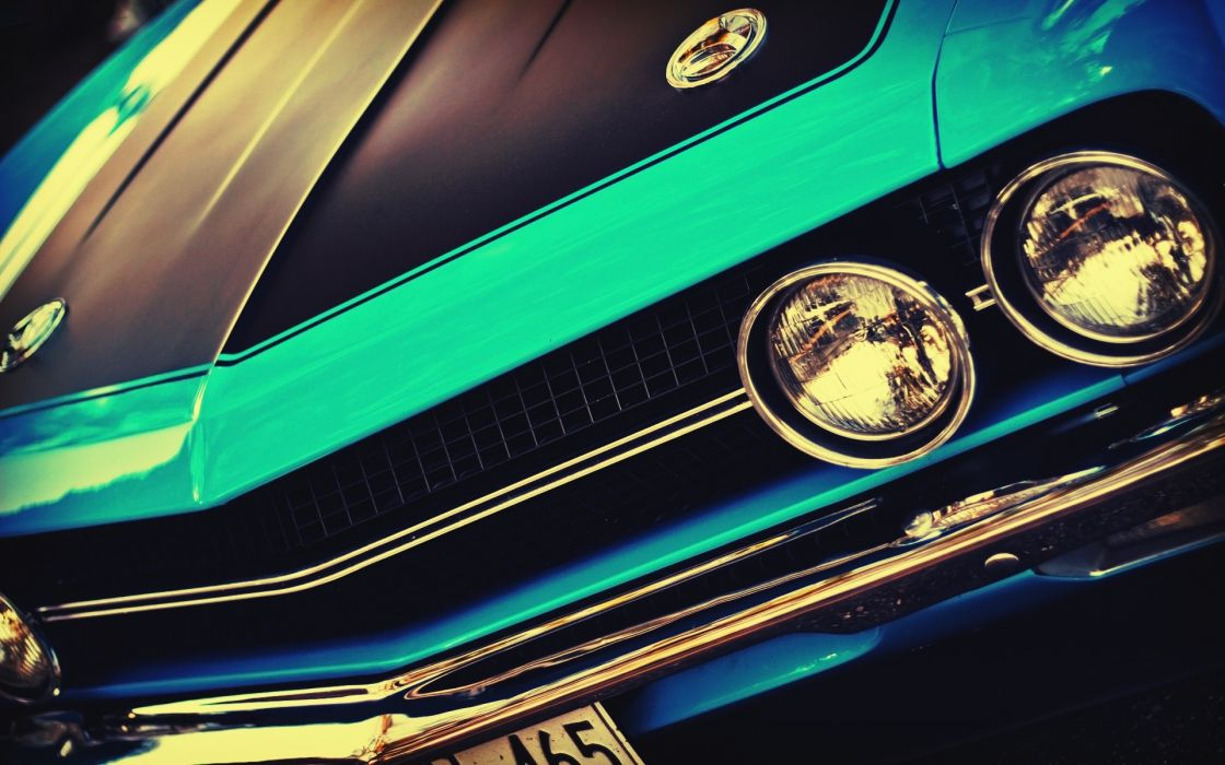 Blue vintage cars muscle cars usa vintage cars american cars wallpaper