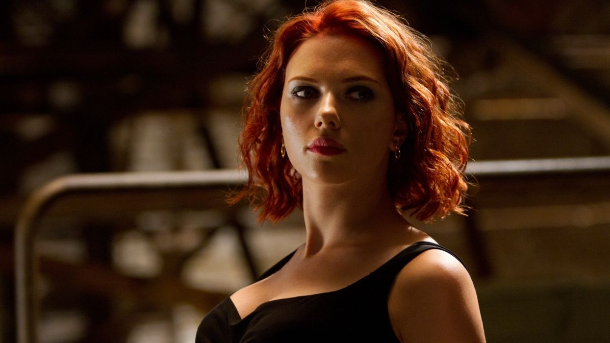 Scarlett Johansson Black Widow The Avengers Marvel Avengers Wallpaper 1920x1080 7521 Wallpaperup