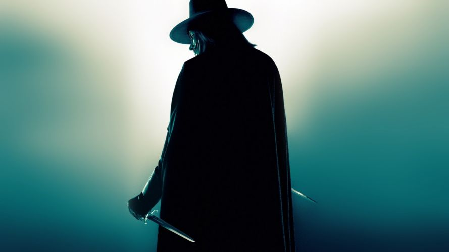 V for vendetta knives hugo weaving wallpaper