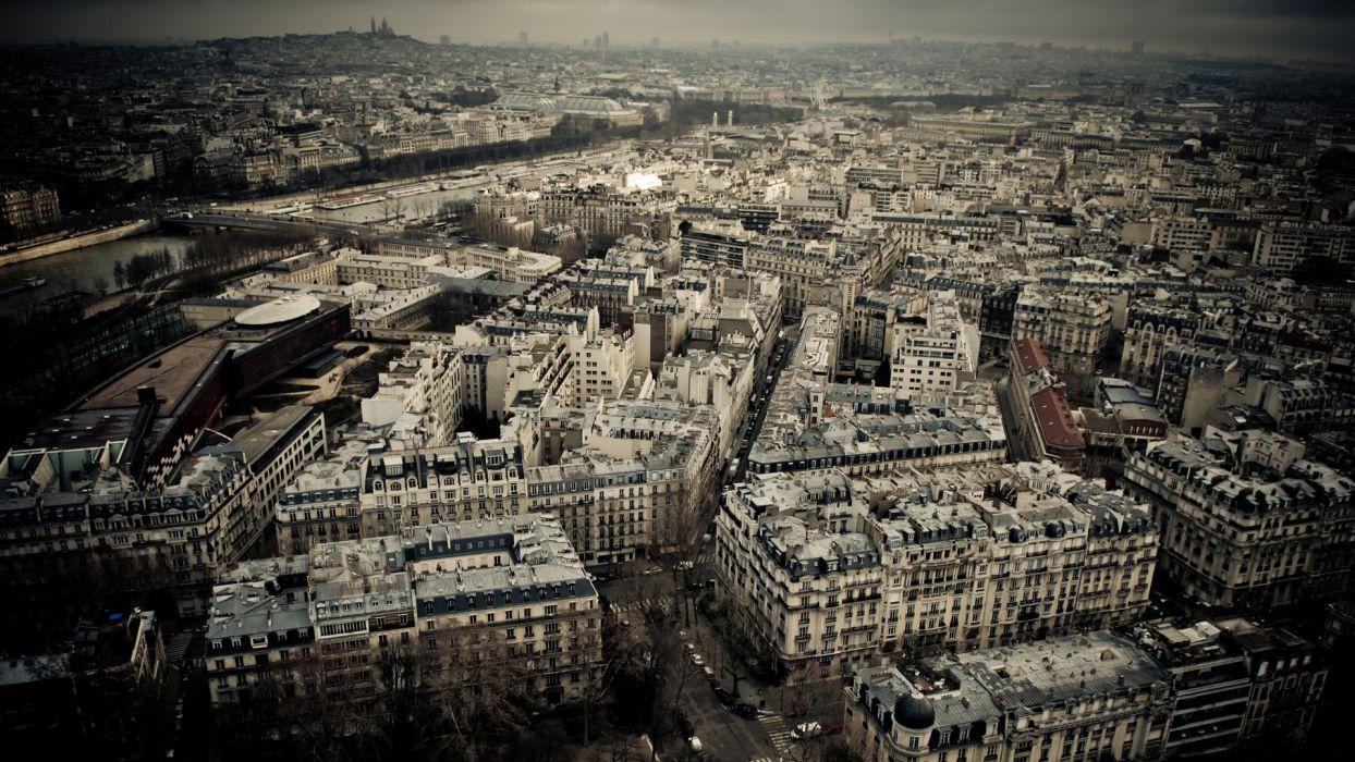 Paris cityscapes travel wallpaper