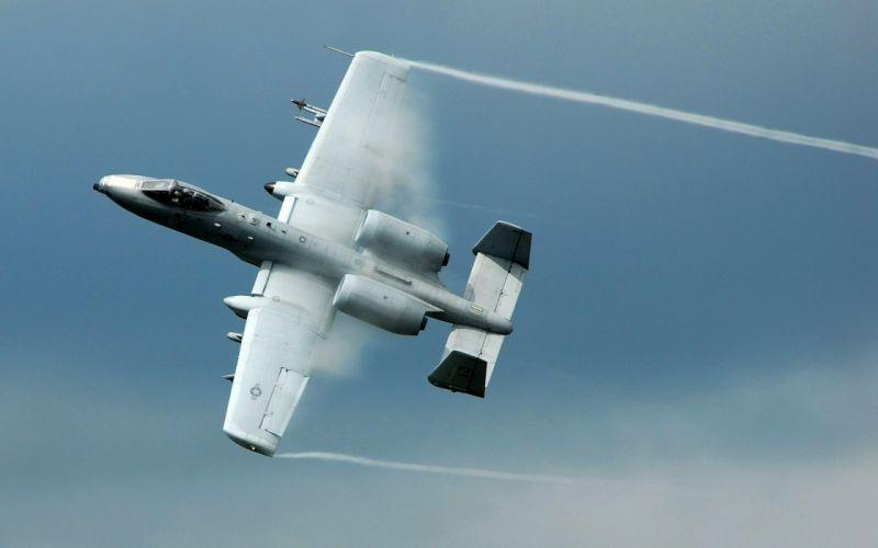 A 10 thunderbolt ii ground attack aircraft wallpaper