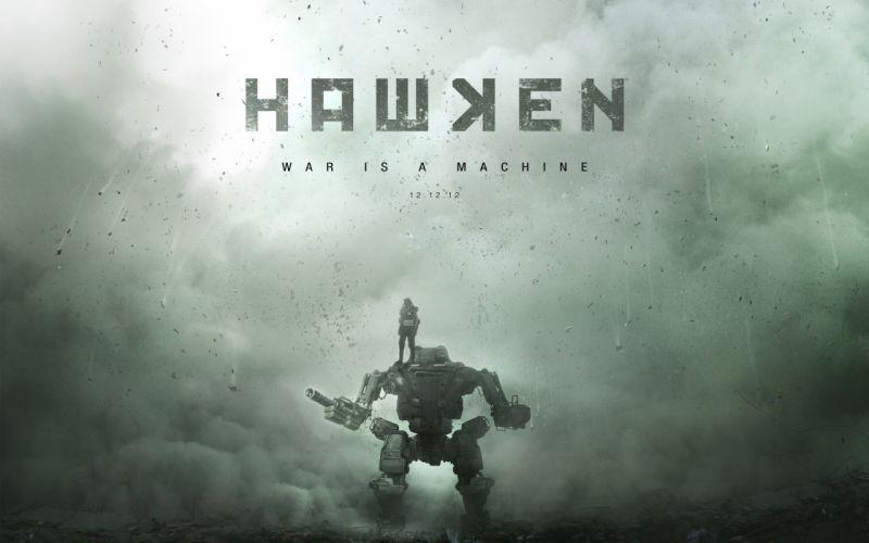Hawken war is a machine wallpaper