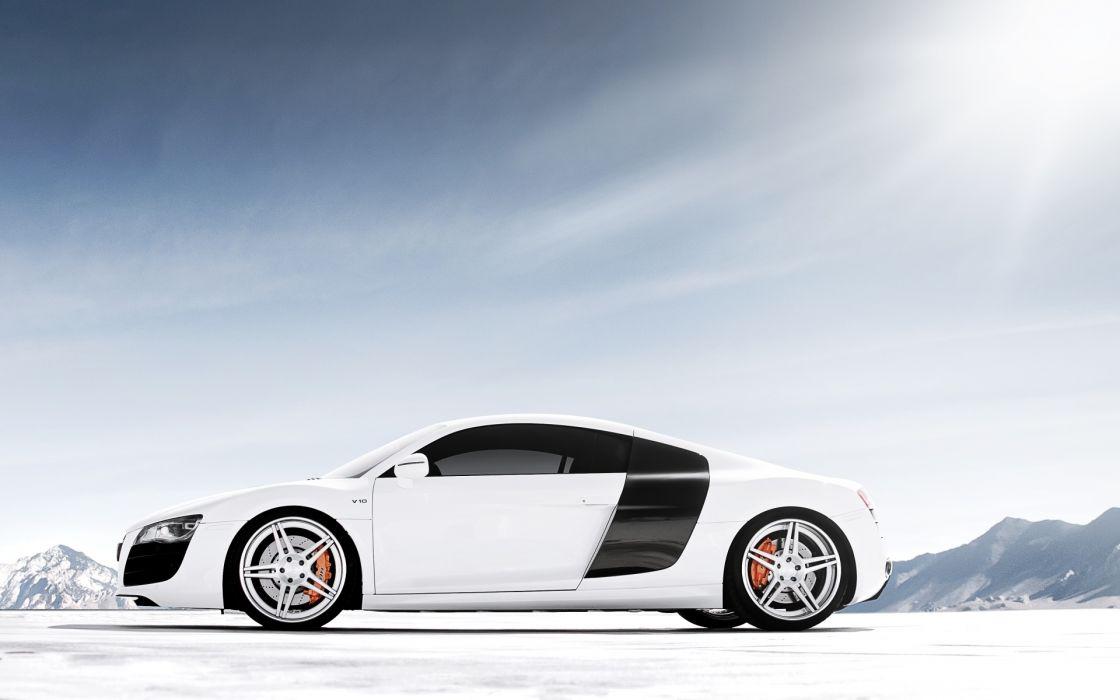 Audi r8 v10 2012 car wallpaper