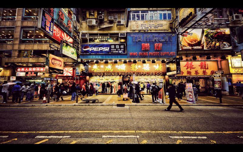 Hong kong china wallpaper