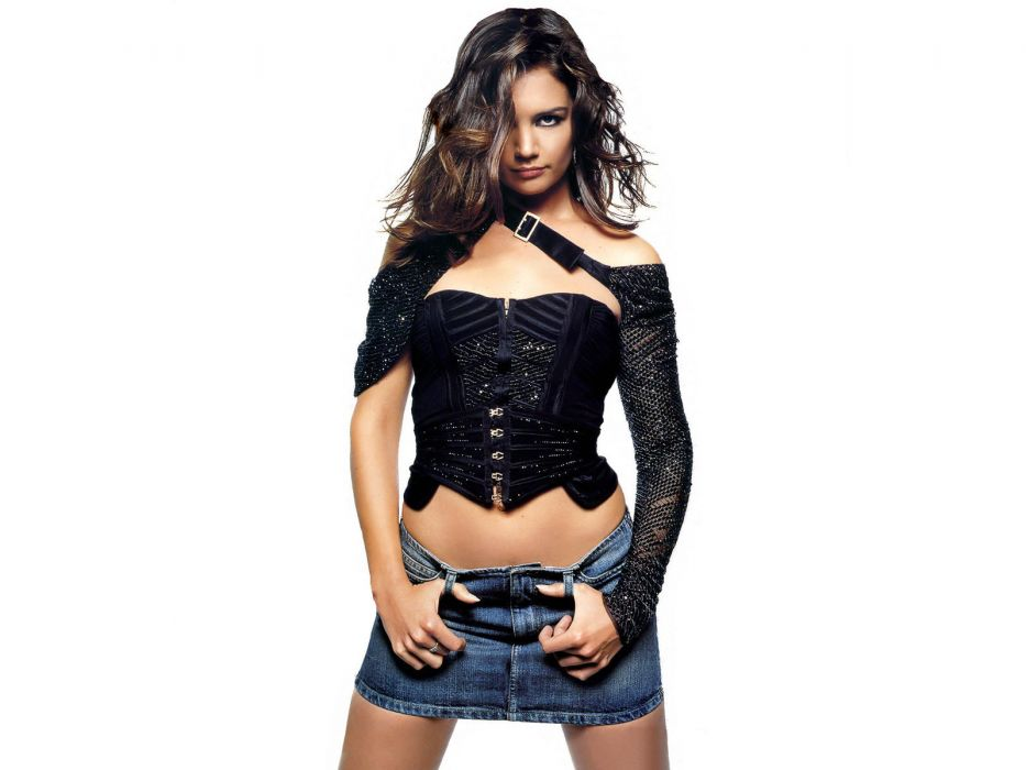 Katie holmes sexy looks normal wallpaper