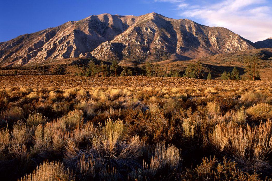 California mountains wallpaper