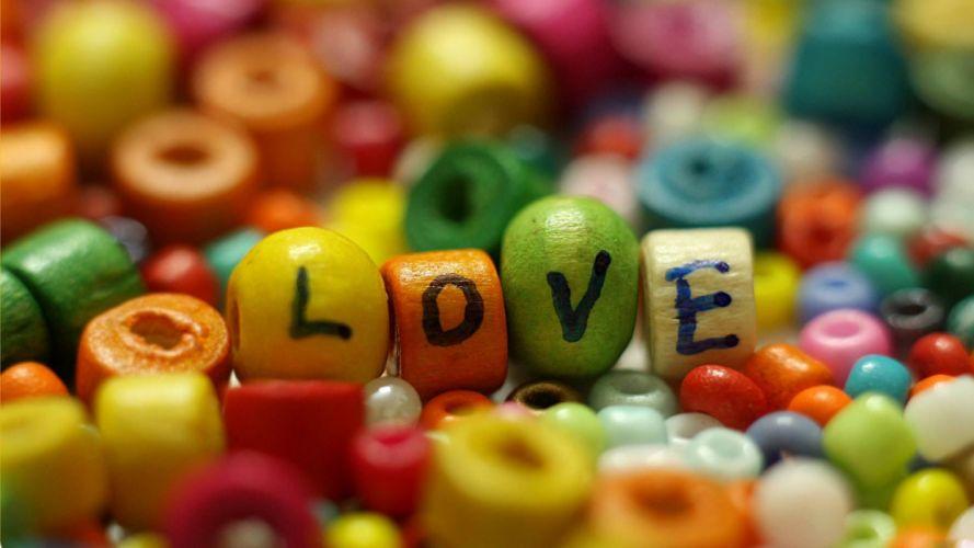 Love colorful wallpaper