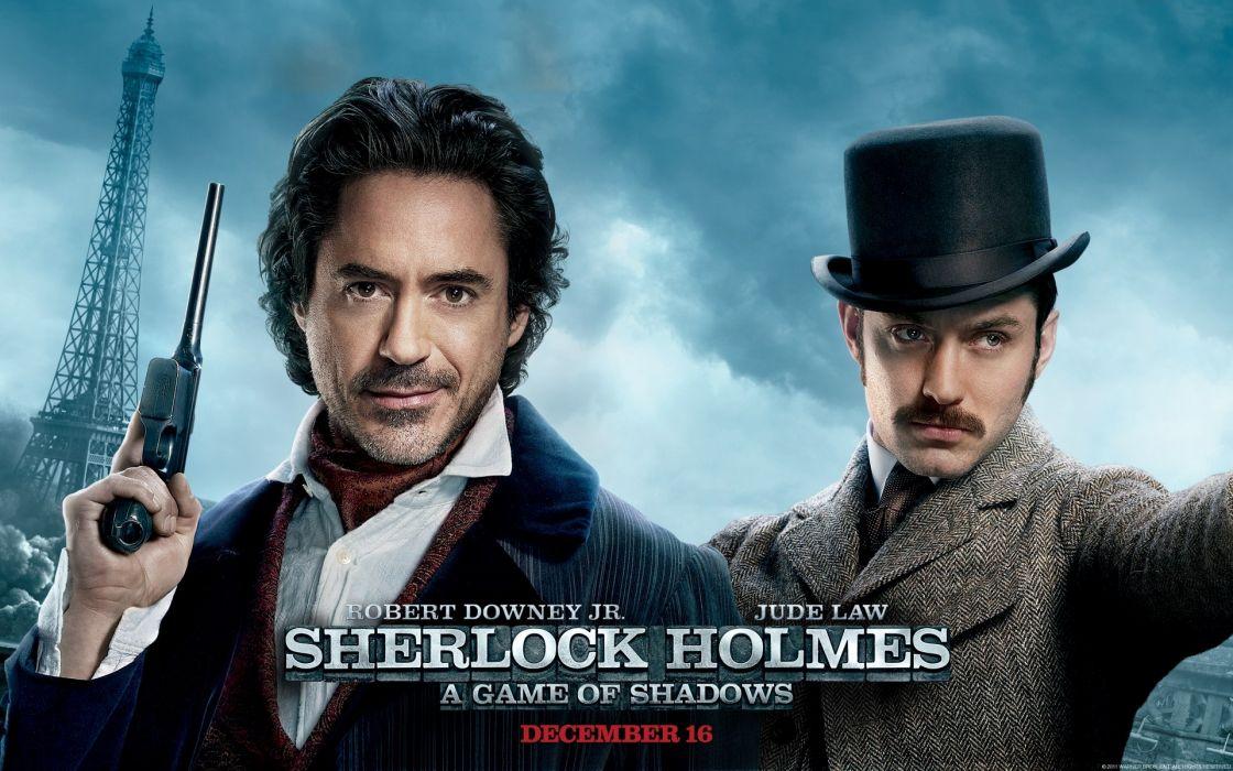 Sherlock holmes a game of shadows wallpaper