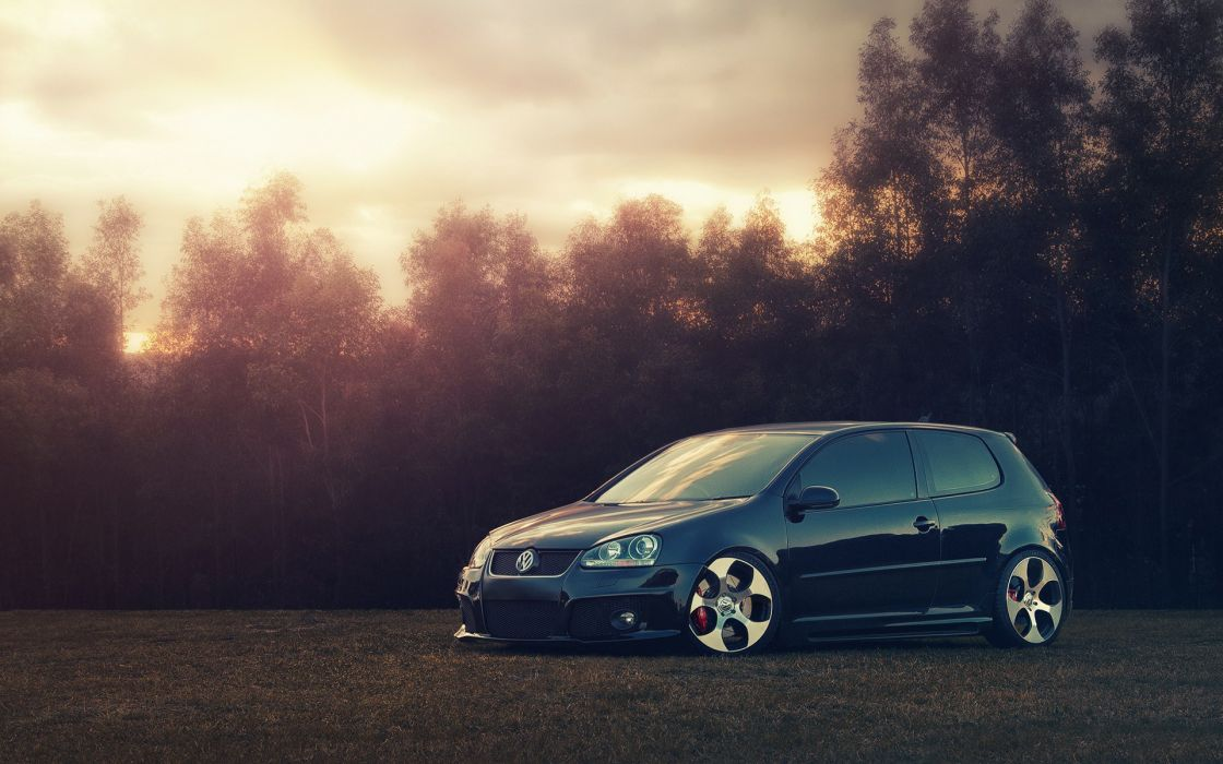 Cars volkwagen golf gti r32 wallpaper