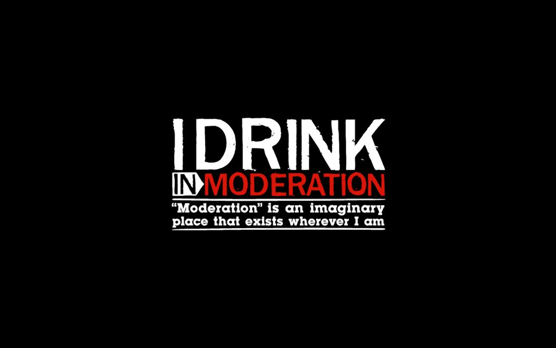 Text alcohol typography drinks black background wallpaper
