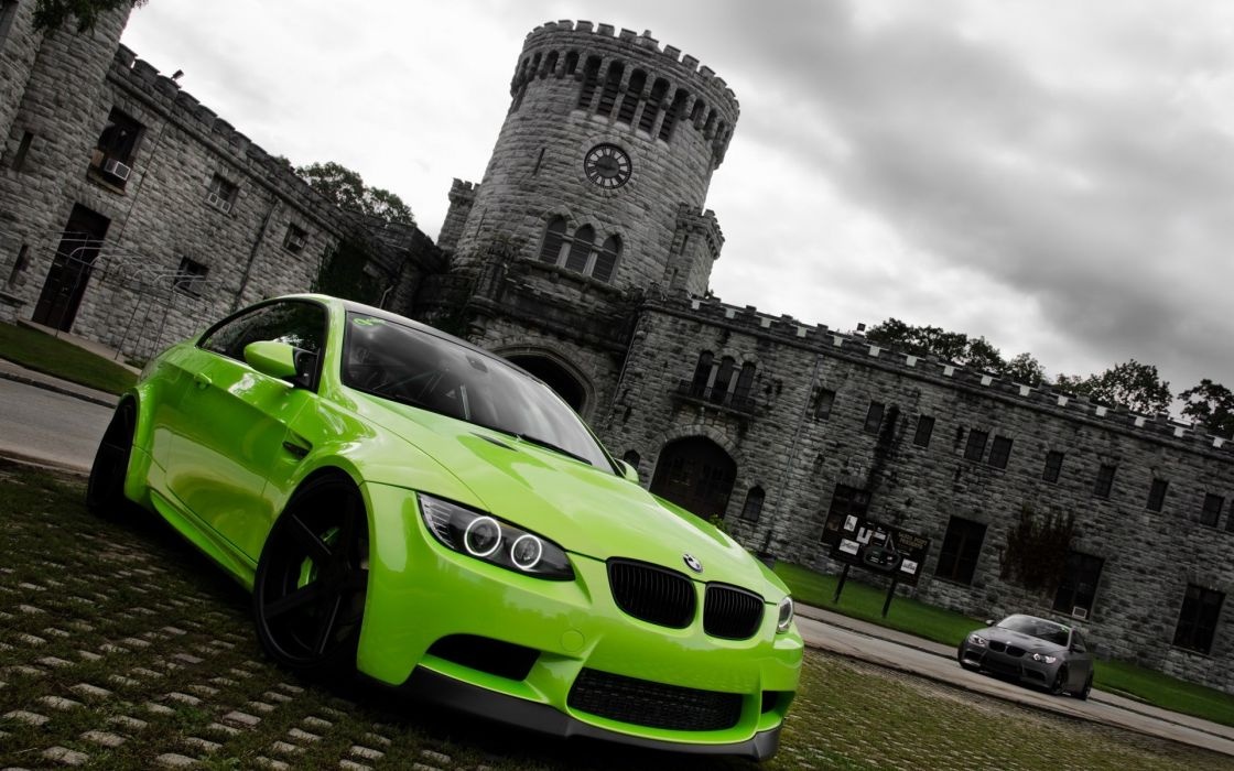 Green cars gray bmw m3 green cars wallpaper