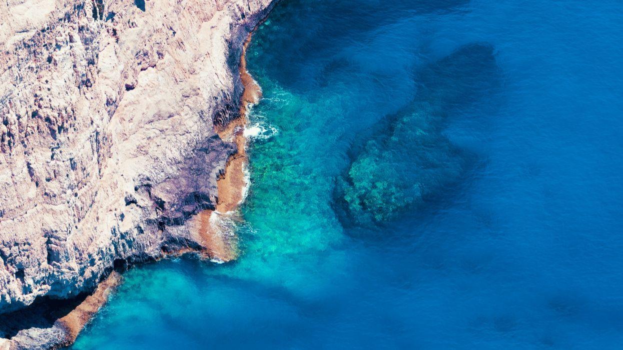 Landscapes sea cliffs wallpaper
