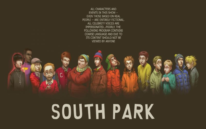 South park alternative art wallpaper
