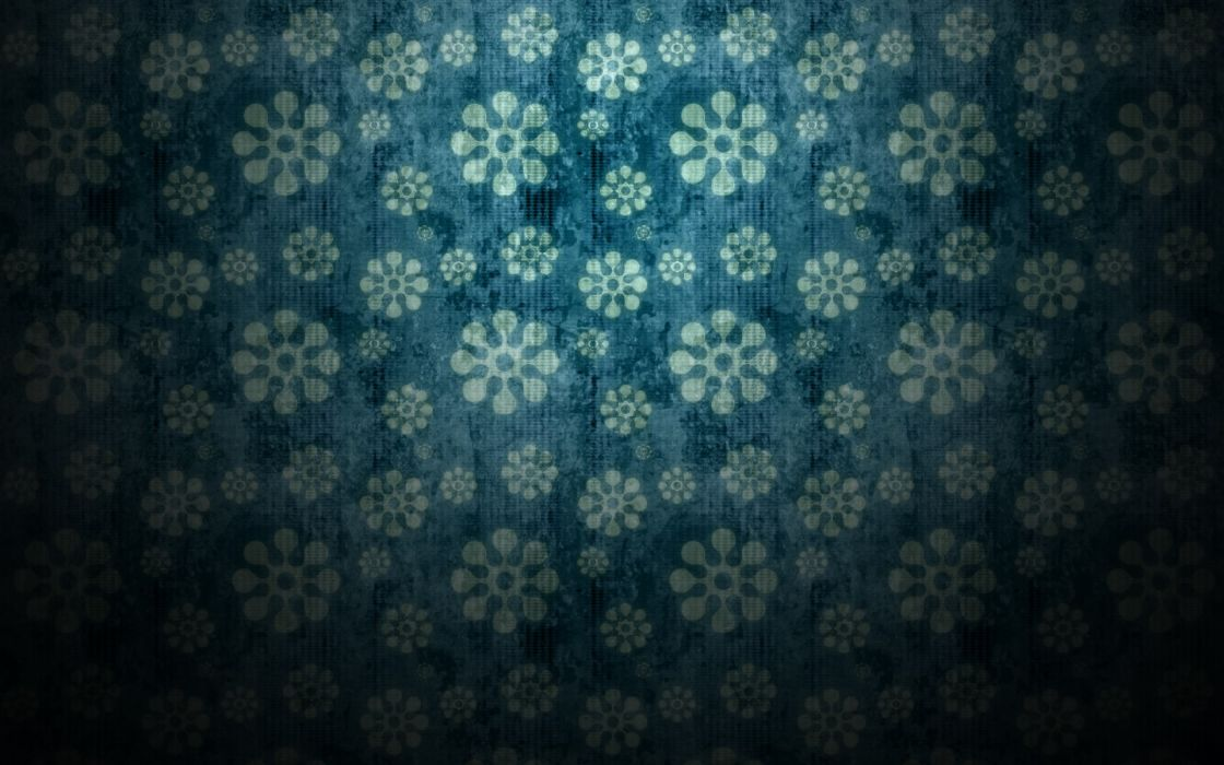 Minimalistic pattern flowers patterns backgrounds wallpaper