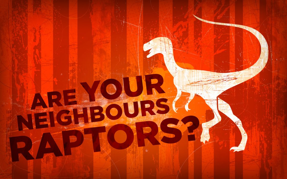 Dinosaurs typography wallpaper