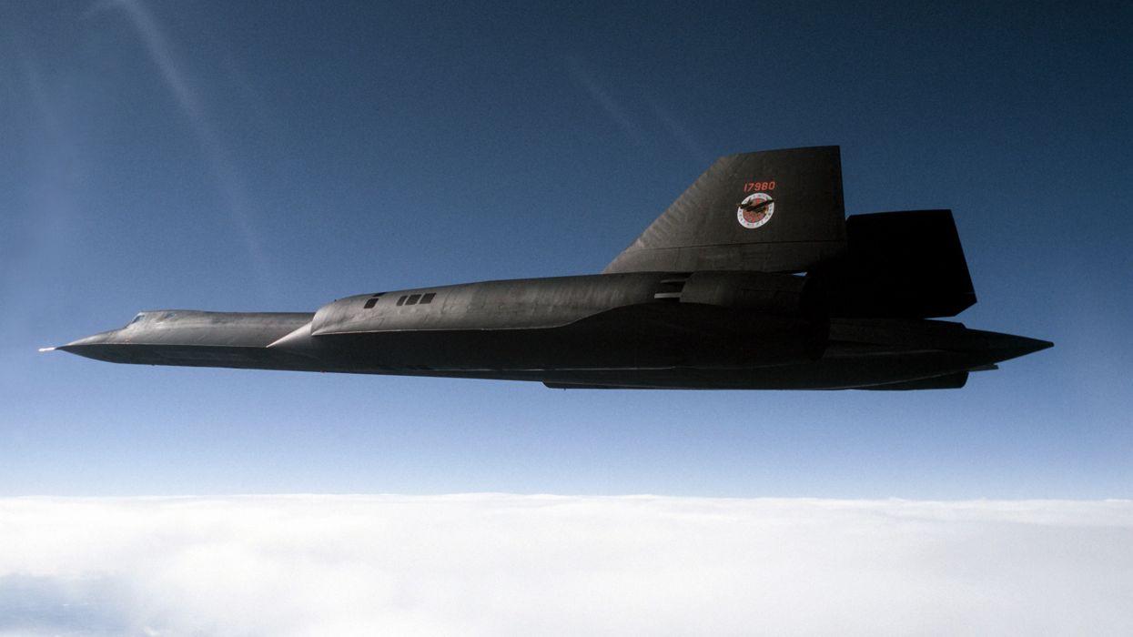 Aircraft sr-71 blackbird aviation fighter jet wallpaper