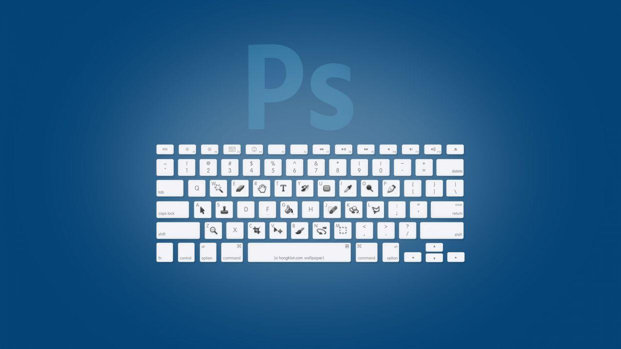 Adobe photomanipulations keybord wallpaper
