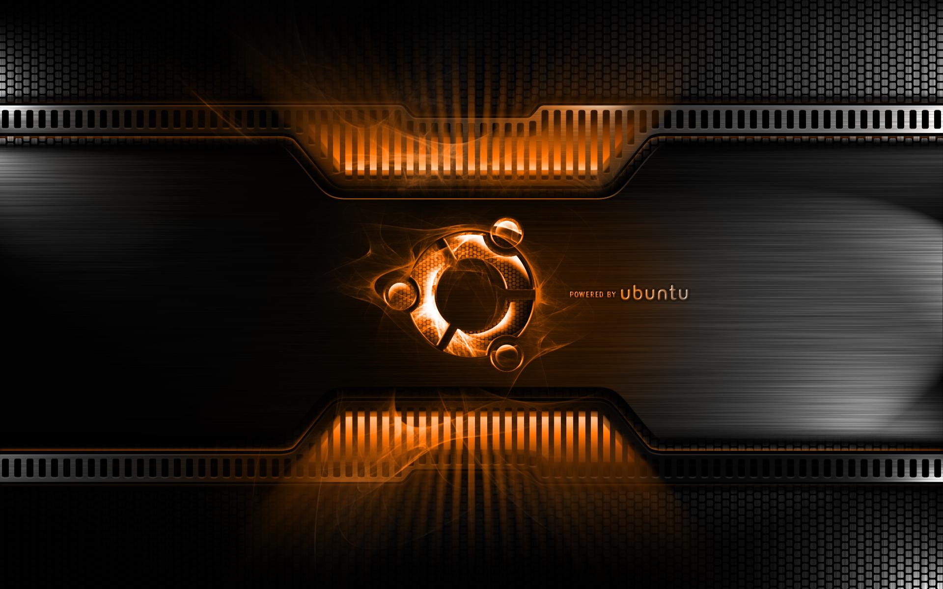 Orange Metal Linux Ubuntu Wallpaper 1920x1200 7942 Wallpaperup