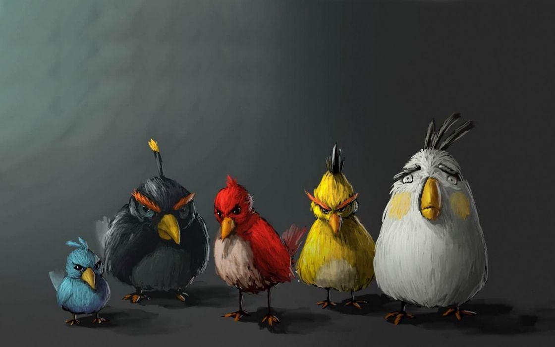 Video games artwork angry birds wallpaper