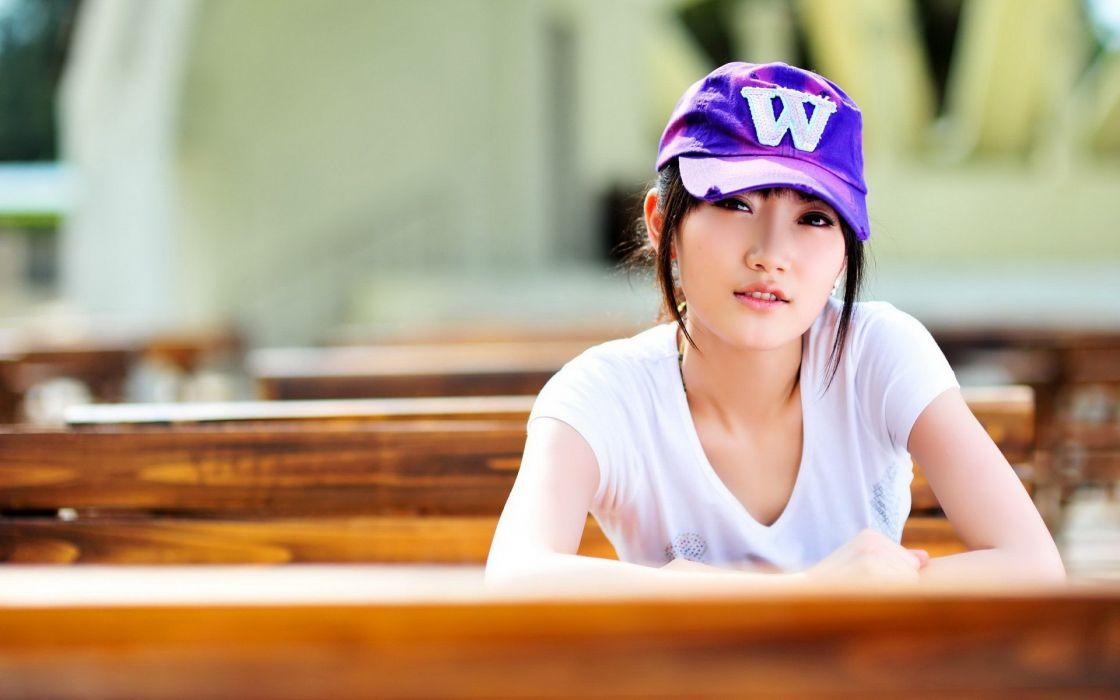 Women models asians hats shu qi wallpaper