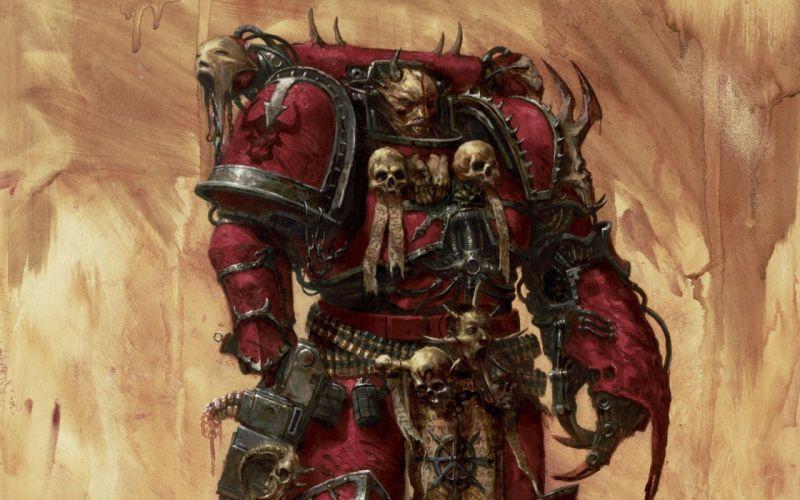 Warhammer 40k chaos marine nurgle wallpaper