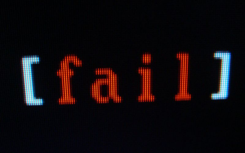 Text fail wallpaper