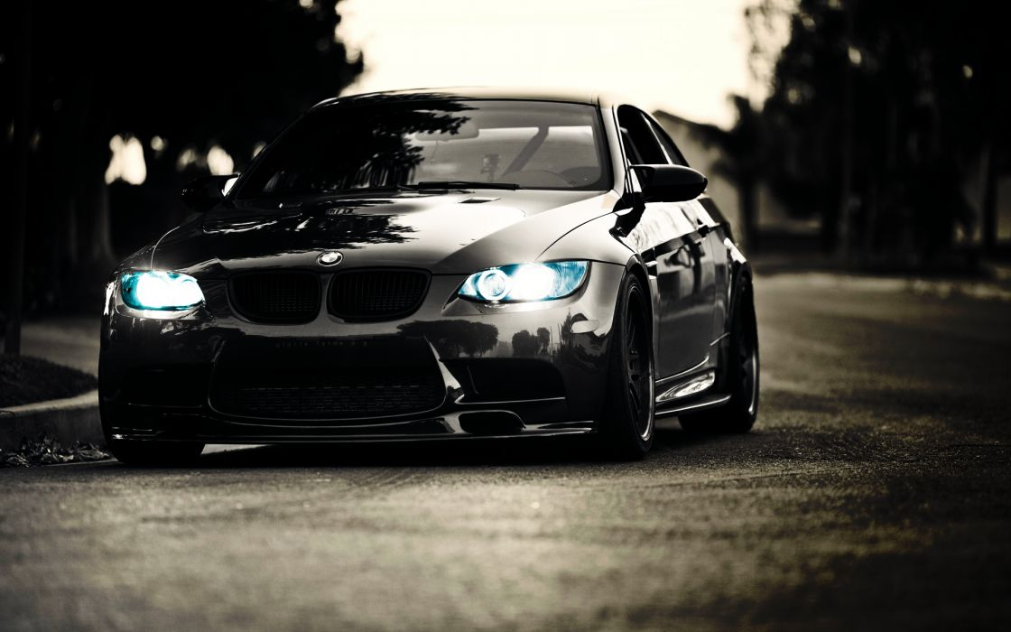 Bmw cars vehicles black cars wallpaper