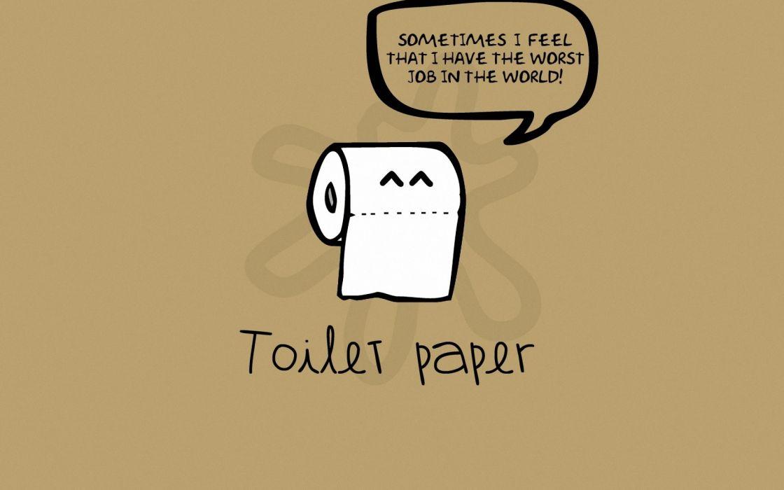 Paper world funny wallpaper