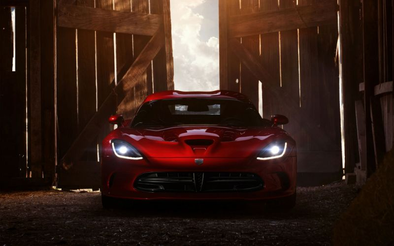 Red cars snakes viper dodge vehicles dodge viper supercars wallpaper