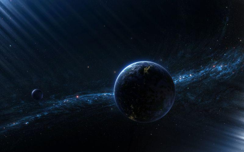 Outer space planets deviantart wallpaper
