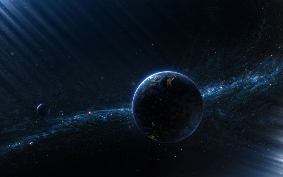 Outer space planets deviantart wallpaper