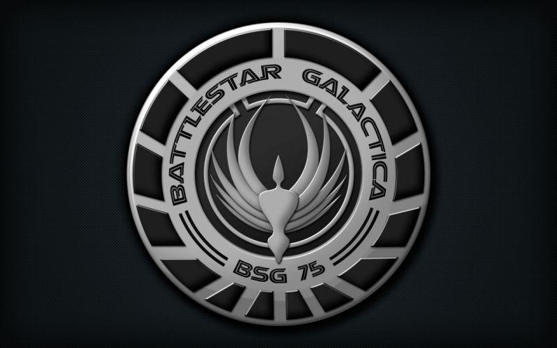 Battlestar galactica logos wallpaper
