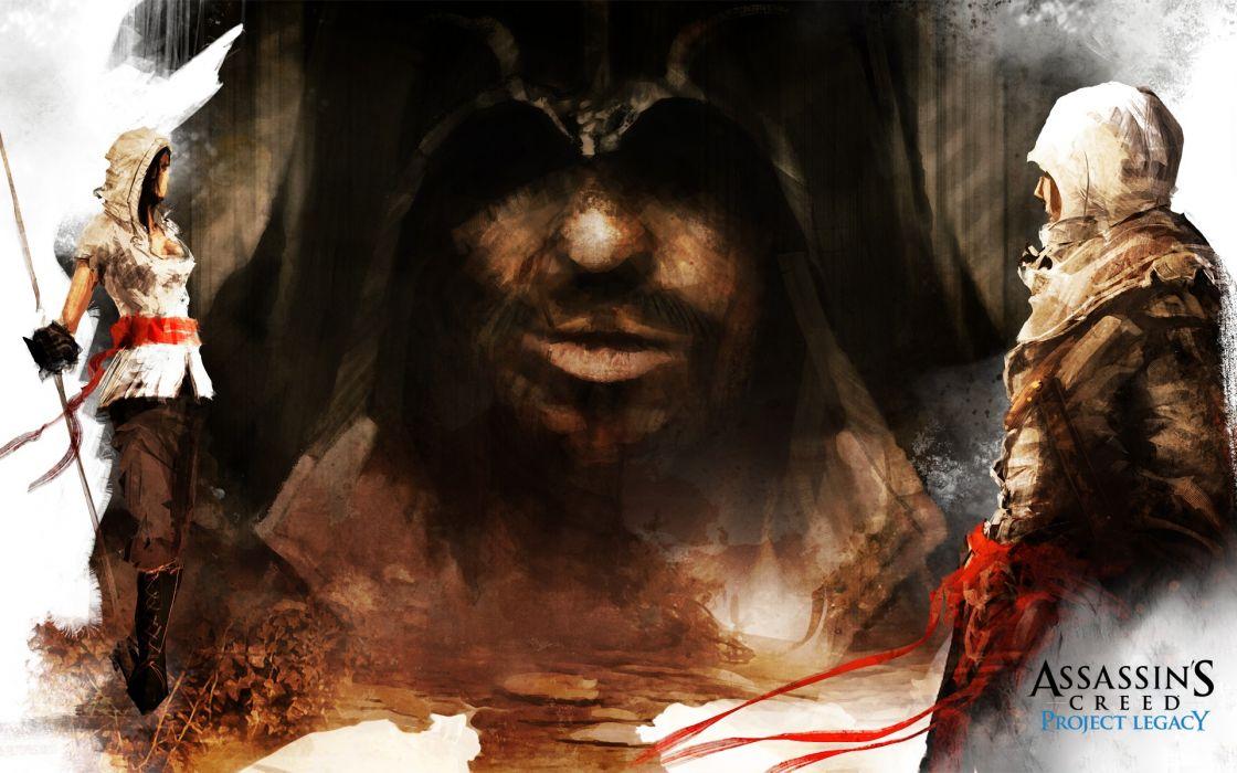 Assassins creed artwork project legacy wallpaper