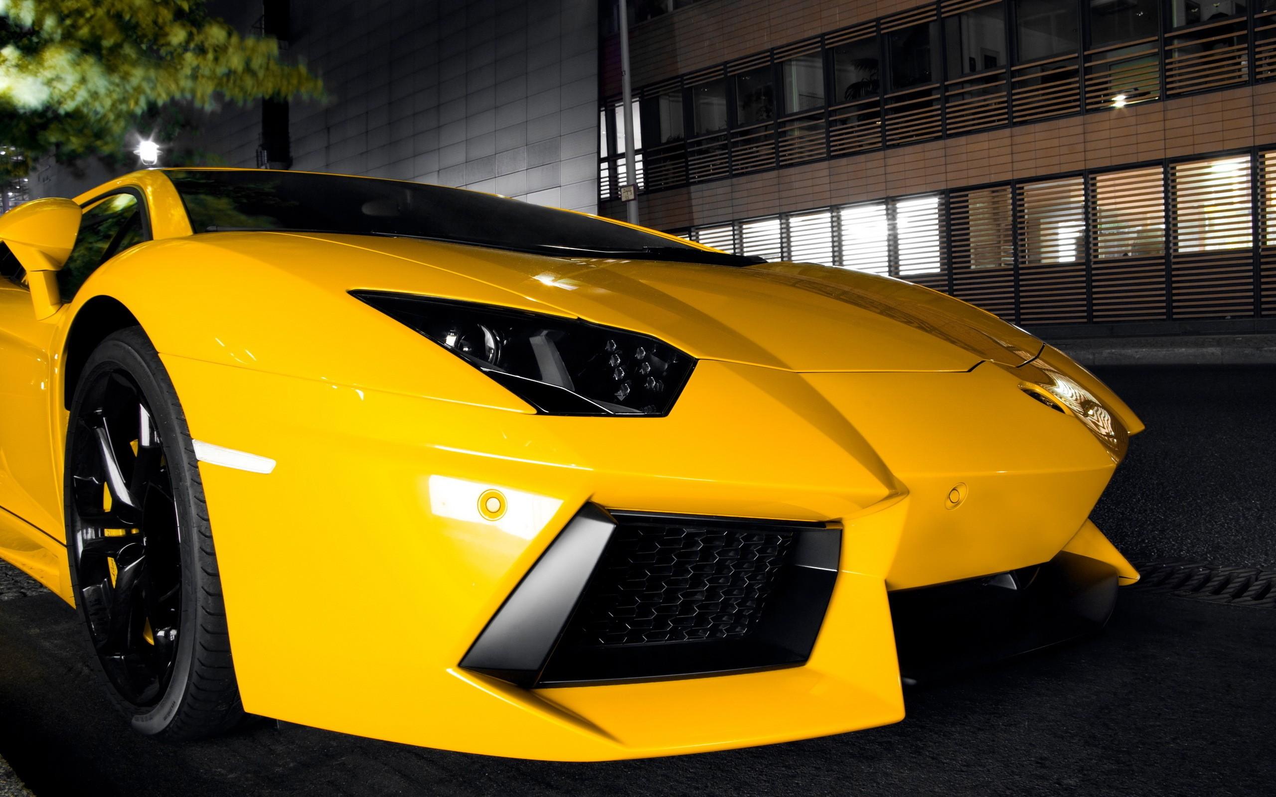 Cars Lamborghini Lamborghini Aventador Yellow Cars Wallpaper 2560x1600 8152 Wallpaperup