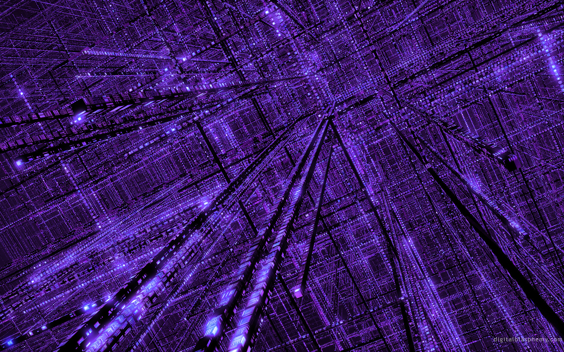 3d view abstract purple grid wallpaper 1920x1200 8155 for Purple wallpaper 3d